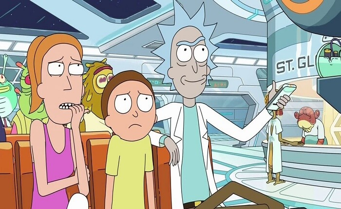En iyi Yabancı Diziler Listesi - Rick And Morty
