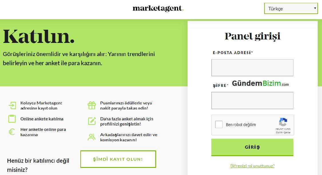 Anket Doldurarak Para Kazanma Sitesi Market Agent